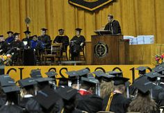 Dr. Hazo W. Carter Jr. told graduates Sunday during his last commencement address as president of West Virginia State University Sunday that education is powerful and that their journey was just beginning.