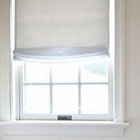 One Yard, No Sew Window Treatment –3 Ways