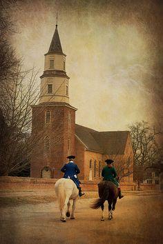 Virginia: Colonial Williamsburg, Bruton Parish Church |
