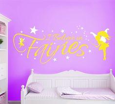 Believe In Fairies Wall Art Sticker