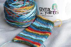 """Day 7 of #25DaysofEnabling: """"Santa's Workshop"""" from Gynx Yarns, on Etsy. Need some? Use """"25DaysofEnabling"""" in her etsy shop for 15% off! (Good through 12/8)!"""
