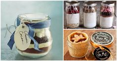 Fabulous Mason Jar Gift Ideas To Get You Through The Holiday Season Mason Jars, Mason Jar Meals, Mason Jar Gifts, Meals In A Jar, Gift Jars, Homemade Christmas Gifts, Christmas Treats, Xmas Gifts, Homemade Gifts