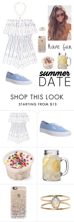 """Pier~"" by babylaci ❤ liked on Polyvore featuring Miguelina, Vans, Casetify, LUMO, Michael Kors, statefair and summerdate"
