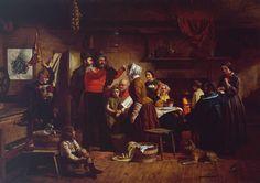 James Collinson 'Home Again', 1856