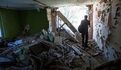 Бомбардован центар Луганска - http://www.vaseljenska.com/vesti/bombardovan-centar-luganska/