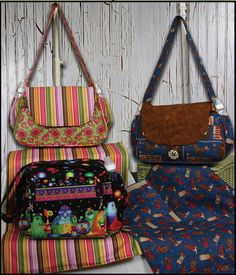 Haute Mama Diaper Bag Pattern by Whistlepig Creek Productions