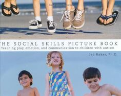 The Social Skills Picture Book Teaching play, emotion, and communication to children with autism by Jed Baker http://www.amazon.com/dp/1885477910/ref=cm_sw_r_pi_dp_CHLTvb105D7M7