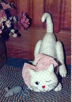 cat door stop sewing pattern | Door Designs Plans