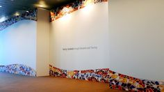 Partition wall made with our modular backdrop system, just aluminium and fabrics. For more information visit our site!