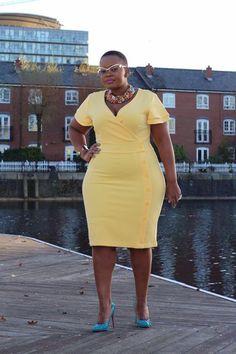 BN Style Your Curves: Mangu of 'Original Mangu' from Zimbabwe - BellaNaija Plus Size Fashion For Women, Black Women Fashion, Plus Size Women, Womens Fashion, Outfits Plus Size, Dress Plus Size, Moda Xl, Look Plus Size, Modelos Plus Size