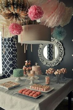 party decoration-but love the drapes!