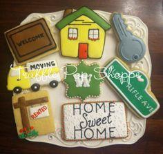 Housewarming - Moving - Welcome Home  www.trufflepopshoppe.com