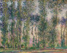 Painting trees: Learning from Poplars at Givery by Claude Monet