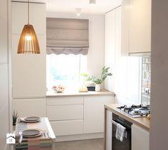 Magia przytulności - Kuchnia, styl skandynawski - zdjęcie od pikadesign small kitchen inspiration | white | design | scandi | scandinavian | ideas