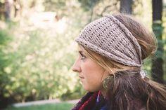 Lacy Head Wrap/Ear Warmer | Craftsy