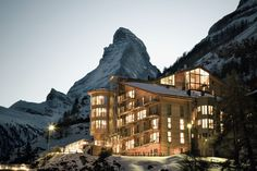 The Omnia Hotel, Switzerland - Cozy Places, Cozy Interior Design Concepts and Decor Ideas