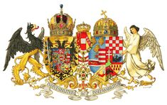 Middle Common Coat of Arms of Austria-Hungary, designed in 1915 Background transparency, details see File:Austria-Hungary coa 1915.png