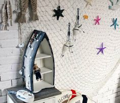 Sereismo: dicas e ideias de decoração para a casa. Rede de pesca!