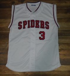 Spiders Baseball designed this custom jersey and Rube Adler Sports in Solon, OH created it for the team! http://www.garbathletics.com/blog/spiders-baseball-custom-jersey/ Create your own custom uniforms at www.garbathletics.com!