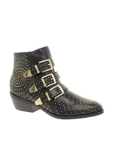 Steve+Madden+Madhouse+Stud+Strap+Ankle+Boots