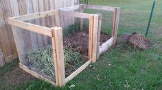 DIY Compost Bin // Lying In The Weeds Blog