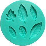 Amazon.com: Allforhome Leaf Silicone Mould - Create 6 Leaves - Fondant Leaf Mold - Sugarcraft Leaf candy Mold - flexible silicone mould, Sugarcraft fondant gunpaste cake decoration cupcake topper icing sugarpaste silicone mould, non stick Sugar paste, Chocolate, Butter, Resin, Cabochon, Polymer Clay, fimo, gum paste, PMC, Wax, Candle, Soap Mold: Kitchen & Dining