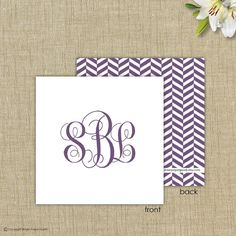 Personalized gift enclosure cards with by brownpapergoods on Etsy, $32.00