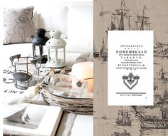 seidenfein 's Dekoblog Dekoblog, Ikea, Nautical Bathrooms, Seaside, Place Cards, Collage, Place Card Holders, Lettering, Beach