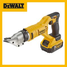 Introducing the DEWALT Metal Shears. Compact and lightweight for cutting sheet metal. D-Handle with rubber overmould for comfortable. Metal Shears, Dewalt Tools, Sheet Metal, Compact, Guns, Garage, Handle, Instagram Posts, Shop