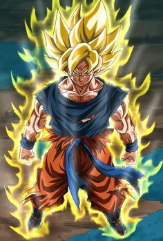 Super sayayin Dragon Ball Z, Dragon Z, Dragon Ball Image, Dragonball Art, Evil Goku, Dbz Wallpapers, Vegito Y Gogeta, Ball Drawing, Naruto