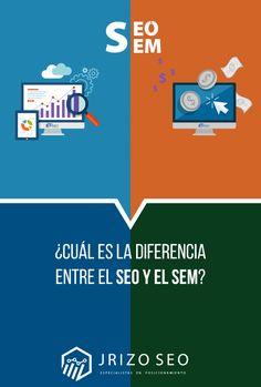 #AgenciaSEO #SEO #SEOEspaña #SEOMadrid #SEM #SEOvsSEM Seo And Sem, Madrid, Chart, Blog, Blogging