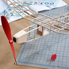 Series 4000 Plane Kits | Balsa Wood Plane Kit | Balsa Airplane Kit | Eco Friendly Toys