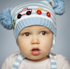 For the cutest baby boy you know, this Double Tuft Trucks knit baby hat from Melondipity.com makes a great gift. Price: $21.99