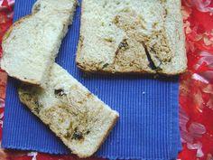 Chleb mleczny z suszonymi śliwkami i miodem (wypieki z automatu)