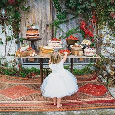 We don't know what we love more about this photo. The amazing dessert bar by South Coast fave @garnish_catering or the super adorable flower girl helping herself to a piece of cake on the sly! Photo by #red_berry_photography. #hellomayloves #garnishcatering #RWS16