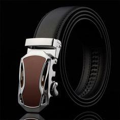 Belt 2016 designer automatic buckle Cowhide Leather men belt luxury fashion business belts for men-in Belts & Cummerbunds from Men's Clothing & Accessories on Aliexpress.com | Alibaba Group