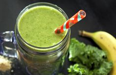 DIY Protein Packed 'Green Machine' Shake For Hair Growth And To Strengthen Fragile Hair  Read the article here - http://www.blackhairinformation.com/growth/juicing/diy-protein-packed-green-machine-shake-hair-growth-strengthen-fragile-hair/