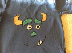 Camiseta con monstruo