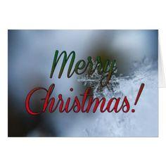 Merry Christmas holiday greeting card - holidays diy custom design cyo holiday family
