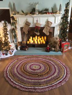 Homestead Rug Crochet 65 Rag Rug Round Cotton Washable