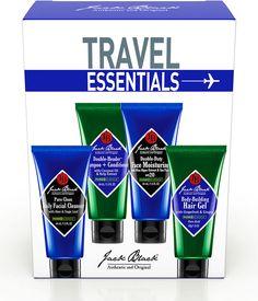 #holidaygiftguide #2015 #men Jack Black Travel Essentials Set