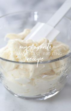My Favorite Cream Cheese Frosting recipe | inspiredbycharm.com