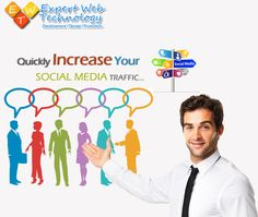 Quickly Increase Your Social Media Traffic by SMO Services. Contact Now for best SMO Services to drive traffic for your website and improve search rankings.