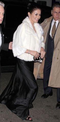 Catherine Zeta-Jones Photos Photos - Actor Michael Douglas and Catherine Zeta-Jones out and about in New York City, NY. - Michael Douglas And Catherine Zeta-Jones Out In New York City