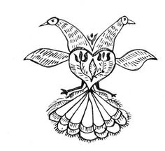 408 best folk art images in 2019 day of dead day of the dead mask Popular Culture peacock folk art coloring page from peacocks category select from 30791 printable crafts of cartoons nature animals bible and many more