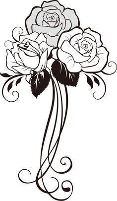 ♔ ROSE VINE SILHOUETTE SVG, #CRICUT, #CRICUTEXPLORE   CRICUT ...