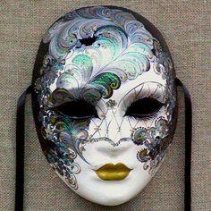 Volto mask by Ca' Macana. Venice, Italy. #venetianmask