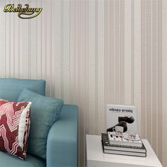 beibehang Metallic modern roll wallcovering glitter non-woven stripe wall paper roll background mural wallpaper for living room