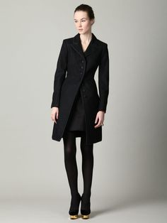 Marc by Marc Jacobs Fitzgerald Wool Melton Coat