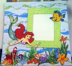 Just Duckie Designs: Under the sea with the Little Mermaid